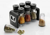 Revolving Spice Rack / Masala Box Spice Set 1 Piece Spice Set  (Plastic) Set of 6 Jar