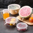 Silicone Lid Set, Silicone Lids For Containers, Silicone Stretchable Lids, Silicone Lids And Cover