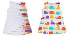 Hydes Buy One Get One Offer Printed Girls Kids Nighty Nightdress Super Soft Nightwear Cotton Hosiery One Piece Buy 1 Get 1 Age 6 Year