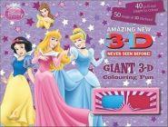 Disney Princess Amazing New Giant 3-D Colouring Fun Book