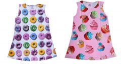 Hydes Offer Printed Girls Kids Nighty Nightdress Super Soft Nightwear Cotton Hosiery One Piece Buy 1 Get 1 Age 2, 3, 4, 5