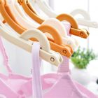 Portable Folding Clothes Hangers, Drying Rack (Pack Of 10)