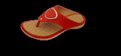 Footshine Women Fancy Semi Air-Mix Slipper