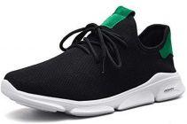 Men's Fashion Cotton & Casual Suitable Solid Shoes Black/White/Green