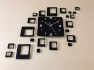 3D Antique Collection Acrylic Wall Clock Design, for Living Room, Bedroom Wall, Home and Office (Pack of 1) d