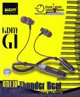 KDM G1 Thunder Beat 1x60 Edition Wireless Headset with Quick Charge Support   Bluetooth Connectivity   Crystal Clear Sound