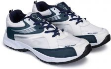Lightweight & High Quality Sports Shoes For Men Suitable for Running (Color: White & Blue)