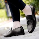Men's Casual Pu Leather Tassel Loafer & Moccasins Shoes