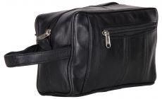 ASPENLEATHER Genuine Leather Shaving Kit Bag For Men