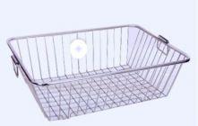 Aquiriosindia Stainless Steel Utensil Drainer/Dish Drying Rack/Plate Stand/Kitchen Utensils Basket Square Shaped