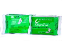 Best Quality Super Sanitary Pad with Wings 280mm 6 Pads In a Packet (Packet Quantity:- 10)