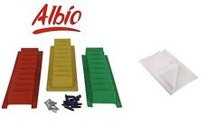 Albio Finger - Motion Exercises For Shoulder/ Elbow And Wrist Joints Abduction Ladder With Single White Color Non Woven Bad sheet