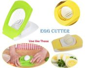 Premium Egg Cutter Can Be Used to Prepare Evenly Sliced Sections Or As A Garnish for A Variety of Recipes