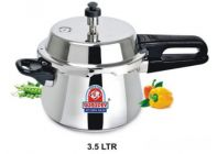Aquiriosindia Stainless Steel Compatible Pressure Cooker (Pack of 1)   (3.5 Ltr)