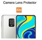 Generic Back Camera Lens Protector Glass for Redmi Mi Note 9 Pro Transparent