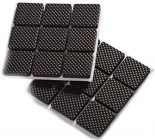 Appacker Adhesive Square Shape Furniture Protection Cushion Pads (Pack of 18)