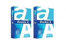 Double A Office/Schools Essentials A4 Sheets, 75 GSM,500 Sheets, 2Ream (Pack Of 2) (White)