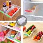 High Quality Plastic Fridge Space Saver Container (Multi-Color) (Pack of 4)