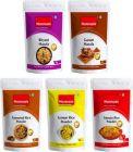 Mummaa's Tomato Rice Powder (100g) + Lemon Rice Powder (100g)+ Garam Masala (100g) + Biryani Masala (100g)+ Tamarind Rice Powder (100g)  (5 x 100 g)
