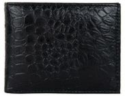 ASPENLEATHER Genuine Leather RFID Blocker Wallet For Men - Black