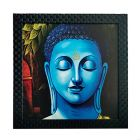 JunctionCraft Lord Gautam Buddha Art Print Design Matt Textured UV Ink Painting