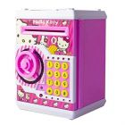 World of Needs Won Hello Kitty Money Safe ATM Savings Bank with Electronic Lock with Password for Kids