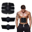 Nilkanth Fashion Adjustable Gym | Muscle Exerciser Trainer Smart ABS Stimulator with Stickers Pad for Body Slimming Massager