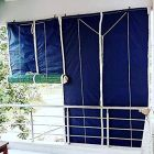 Bamboo Curtains for Balcony, Windows, Privacy and Sun Shade   Pack of 1