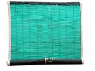 Bamboo Curtains for Balcony, Windows, Privacy and Sun Shade (Green) | Pack of 1