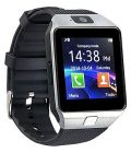 RS Future DZ09 Bluetooth Smart Watch with Touchscreen Multifunctional TF Sim Card with Camera Compatible All Android and iOS Devices (Silver)