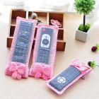 Appacker Bow Knot Remote Control Cloth Cover for TV, Air Conditioner, D2H, DTH Remotes