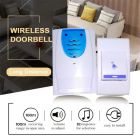 Musical Sound Cordless Square Doorbell, 32 Melody