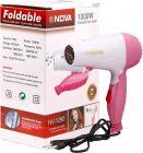 Nova Professional Hair Dryer Foldable 1000W Hair Dryer by Khodiyar Fashion