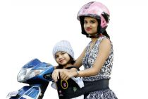 Kidsafe Two Wheeler Child Safety Seat Belt, Cool Black Eyes