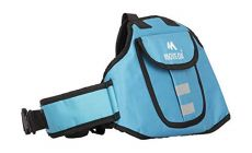 Move On Child Safety Belt for Children When Travelling on Motorbikes and Scooters. Belts Secures The Child to The Parent. Soft and Cushion Based Belt -LK Plain (47 MOCRAFT Blue)