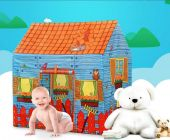 Ethnic Forest Size Extremely Light Weight , Water Proof Kids Play Tent House for 10 Year Old Girls and Boys (Farm House)