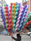 Generic Cobra Mixed Spiral Latex Balloons Birthday Party Decor, Multi-colored (Pack of 25 Pieces)