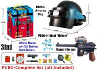 WORLD OF NEEDS PUBG Player Battle Ground Toy Series Airdrop Bag Complete Combat Set (WON)