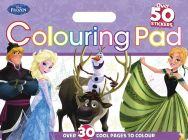 Disney Frozen Colouring Pad Book