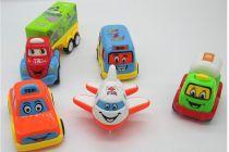 WON Car Combo Toy Pack of 5 Pcs