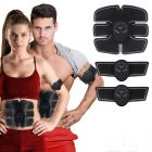 Nilkanth Fashion Body Gym 6 Pack EMS Tummy Flatter, Weight Loss Muscle Toning/Fitness Technology Kit 6 Pack Abs, Wireless Electro Pad Portable Gym Trainer for Men/Women (Black)