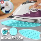 Silicone Iron Rest Ironing Pad Hot Mat Ironing Helpers Ironing Insulation Boards (Random Color) (Pack Of 2)