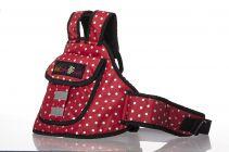 Kidsafe Two Wheeler Child Safety Seat Belt, Cool Red Dot