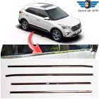 Speed 99~RPM Chrome Stainless Steel Lower Window Garnish For Hyundai CRETA Complete Set Of 4 Pcs Exterior Accessories