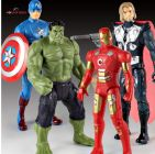 WON World of Needs 18cm The Avengers 3 Infinity War Action Figure Set of 4 Toys Iron Man Thor Captain America Hulk Toys for Children