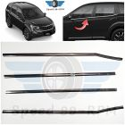 Speed 99 ~ RPM Chrome stainless steel Window Set Compatible with Mahindra XUV 500 Set Of 4 Outdoor Accessories