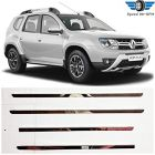 Speed 99~RPM | Chrome Stainless Steel Lower Window garnish | for Renault DUSTER |Set of 4pcs | Premium Exterior accessories