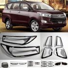Speed 99~RPM Chrome Combo Smart Kit For TOYOTA INNOVA CRYSTA Complete Set Of 27 Pcs 7 Items Exterior Accessories Extra Premium
