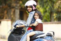 Kidsafe Two Wheeler Child Safety Seat Belt, Sport Brown