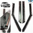 Speed 99~RPM Chrome Line Door Visor Compatible With Hyundai Venue Set Of 4 Pcs 360 Degree Foldable Non Breakable Extra Clear Premium